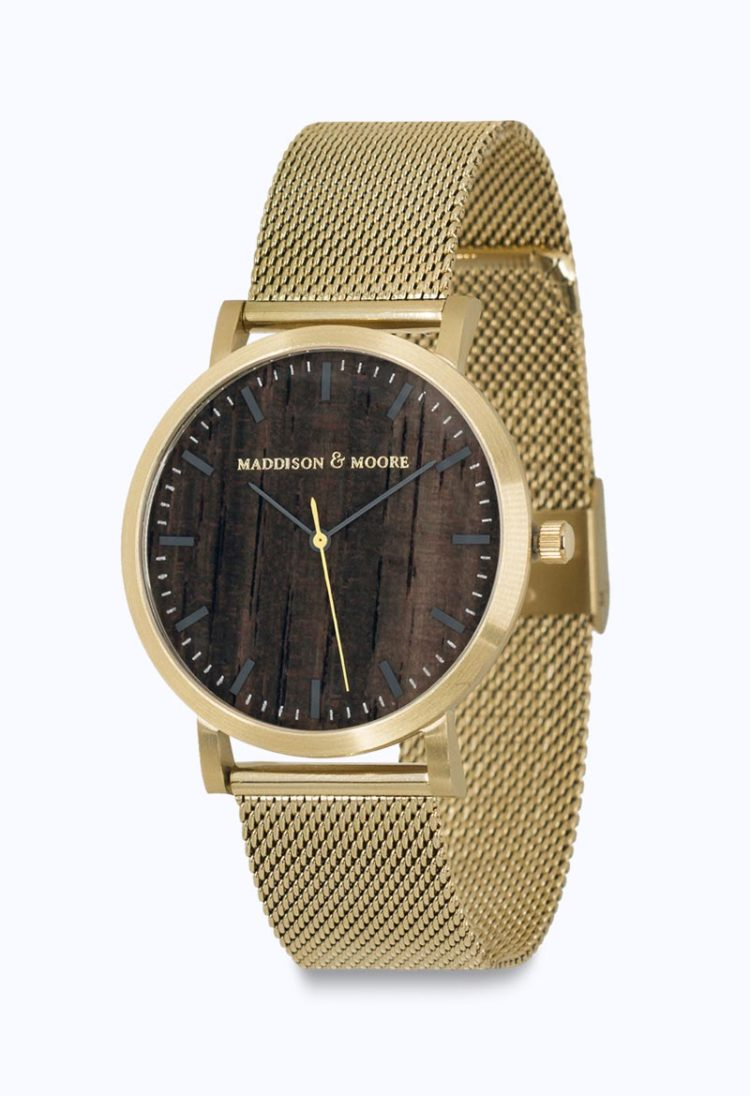 Minimalistic Luxury unisex wooden watch